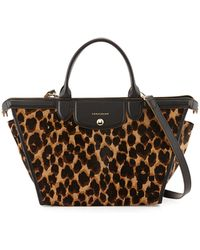 Longchamp Le Pliage Heritage Luxe Top-handle Bag - Lyst