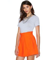 Nasty Gal The Bright Stuff Skirt - Lyst
