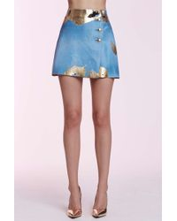 Chanel | Vintage Eustacia Calfskin Skirt | Lyst