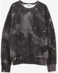 Acne Studios College Marker Sweatshirt - Lyst