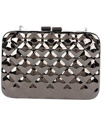 Armitage Avenue - Metallic Quilted Clutch - Lyst