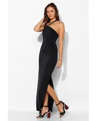 Tela Asymmetrical Cutout Maxi Dress - Lyst