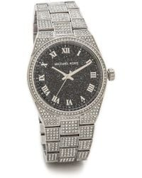 Michael Kors Channing Watch - Clearblue - Lyst
