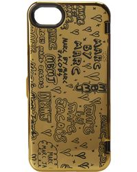 Marc By Marc Jacobs Scribble Mirror Phone Case For Phone 5 - Lyst