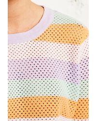 Antipodium - Rouser Rainbow Knitted Jumper - Lyst