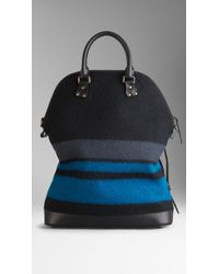 Burberry The St Ives in Geometric Blanket - Lyst