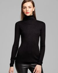Vince Sweater Reverse Seam Turtleneck - Lyst