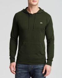 Lacoste Pullover Hoodie - Lyst