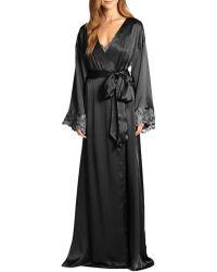 La Perla | Vestaglia Lunga Silk Robe | Lyst