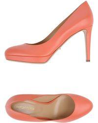 Sergio Rossi Court pink - Lyst