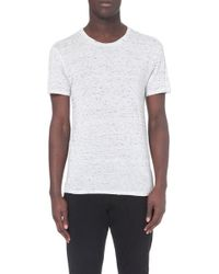 Sandro Jersey Crew Neck T-Shirt - For Men - Lyst
