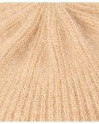 CASH CA - Brown Milled Cashmere Beret - Lyst