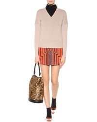 Burberry Prorsum - Cashmere And Cotton Blend Sweater - Lyst
