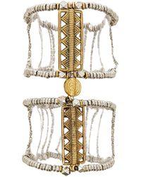 Vanessa Mooney The Blaze Hand Chain silver - Lyst