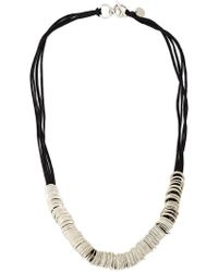 Ann Demeulemeester - Multi-ring Necklace - Lyst