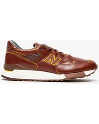 New Balance M998dw Horween Leather - Lyst