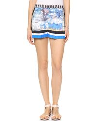 Clover Canyon | Ancient World Map Shorts - Multi | Lyst