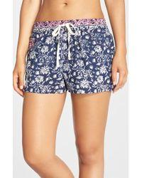 Lucky Brand - 'boho' Sleep Shorts - Lyst