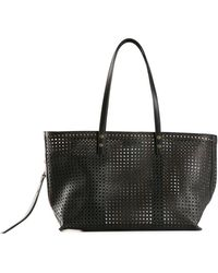 Chloé Perforated Tote - Lyst