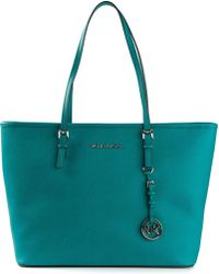 Michael by Michael Kors Medium Jet Set Travel Tote - Lyst