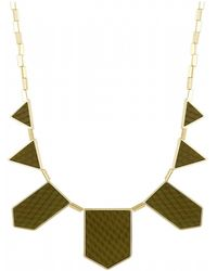 House Of Harlow Five Station Necklace - Lyst