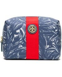 Tory Burch Printed Nylon Brigitte Cosmetic Case - Lyst