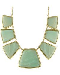 Karen Kane Baja Breeze Statement Necklace green - Lyst
