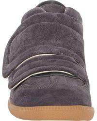 Maison Martin Margiela Double-strap Clinic Sneakers - Lyst