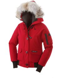 Canada Goose' Women Purple Chilliwack Bomber
