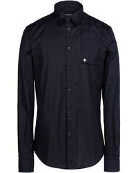 Dirk Bikkembergs Long Sleeve Shirt black - Lyst