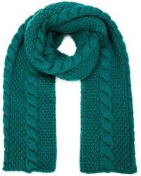 Umit Benan - Cable Knit Scarf - Lyst