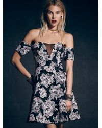 Free People Floral Ballerina Dress - Lyst