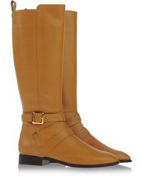 Chloé Beige Boots - Lyst