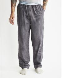 Calvin Klein   Flannel Sleepwear Pants   Lyst