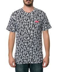 Alife The Sticker Pattern Tee - Lyst