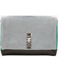 Proenza Schouler Ps Elliot Fur Clutch Grey - Lyst