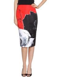 Prabal Gurung 3/4 Length Skirt - Lyst
