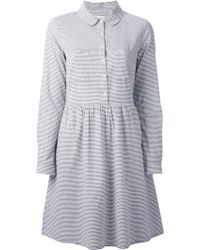 Chinti And Parker Striped Dress - Lyst