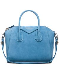 Givenchy Blue Small Antigona - Lyst