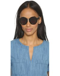 House of Holland - On The Wire Sunglasses - Lyst
