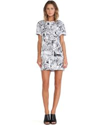 McQ by Alexander McQueen Tshirt Dress - Lyst