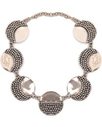 Anndra Neen | Mirror And Pin Necklace | Lyst