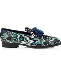 Foxley slippers - Blue Jimmy Choo London 9fCz523Ue