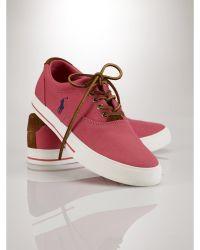 Polo Ralph Lauren Vaughn Preppy Chino Sneaker - Lyst