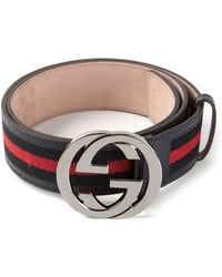 Gucci Signature Belt - Lyst