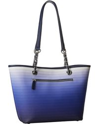 Calvin Klein Blue Ombre Tote - Lyst