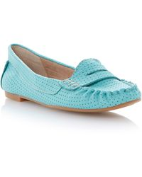 Steve Madden Murphey Saddle Flat Loafer Shoes - Lyst