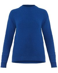 Chinti And Parker Funnelneck Cashmere Sweater - Lyst