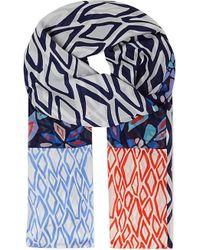 Diane von Furstenberg Printed Silk Scarf - For Women - Lyst