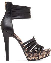 Jessica Simpson Patreena Two-Piece Platform Sandals - Lyst